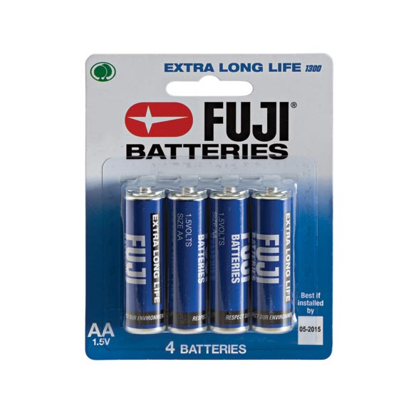Fuji AA Batteries 4-Pack