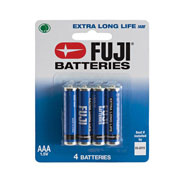 Home Necessities - Fuji AAA Batteries - 4-Pack