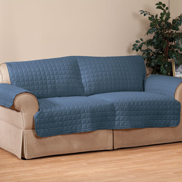 Microfiber Loveseat Protector by OakRidge Comforts™ - View 1