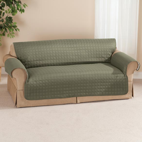 Microfiber Sofa Protector by OakRidge Comforts™ - View 1
