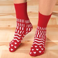 Comfort Footwear - Confetti Treads™ Safety Socks