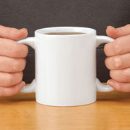 Cooking Alone - Double Grip Mug