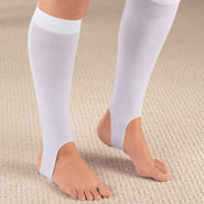 Compression Hosiery - Knee High Compression Stirrup