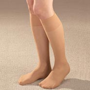 Diabetic Hosiery - Diabetic Knee High Sheer Hose