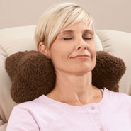 Cushions & Chair Pads - Sherpa Neck Cradle Pillow by OakRidge Comforts™