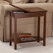 Furniture - Chairside Storage Table by OakRidge Accents™