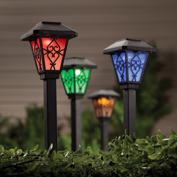 Charmant Color Changing Solar Light