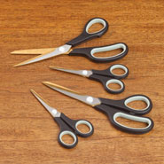 Home Necessities - Titanium Scissors - Set Of 4