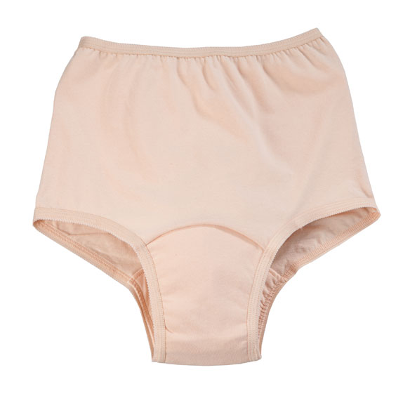 Incontinence Panties For Women, Beige - 5 oz.