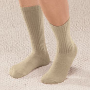 Compression Hosiery - Graduated Compression Diabetic Crew Sock