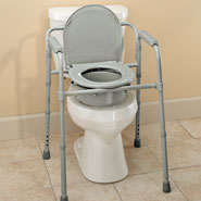 Bathroom Safety - Folding Commode