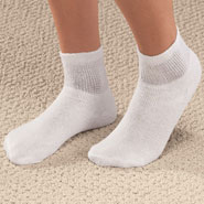 Diabetic Hosiery - Quarter Cut Socks