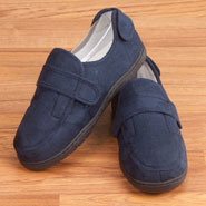 Comfort Footwear - Plush Adjustable Slippers