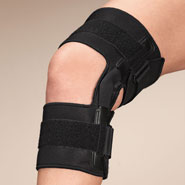 Braces & Supports - Knee Brace With Metal Support