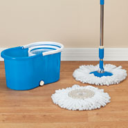 Spring Cleaning - Clean Spin 360° Microfiber Mop and Bucket Set