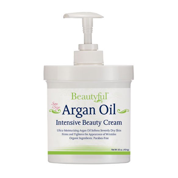 Argan Oil Intensive Beauty Cream - 16 oz.
