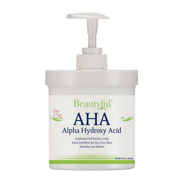 Beautyful™ AHA Alpha Hydroxy Acid Cream, 16 Oz.