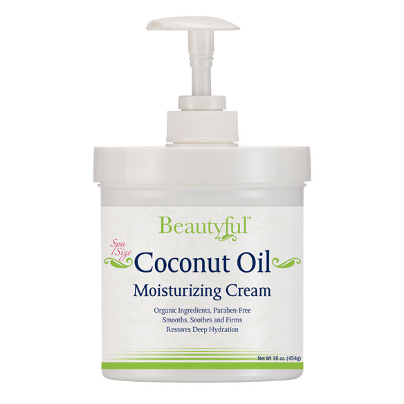 Beautyful™​ Coconut Oil Moisturizing Cream - 16 oz.
