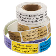 Hobbies & Books - Personalized Large Print Address Labels - Set of 200