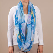 Apparel Accessories - Watercolor Infinity Scarf