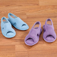 Fleece Apparel & Slippers - Terry Slipper