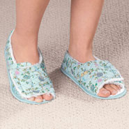 Comfort Footwear - Open Toe Edema Slippers