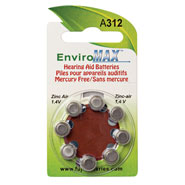 Hearing Devices - Fuji EnviroMax A312 Hearing Aid Batteries - 8-Pack