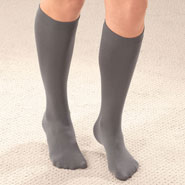 Fleece Apparel & Slippers - Fleece Lined Knee Highs - 2 Pairs