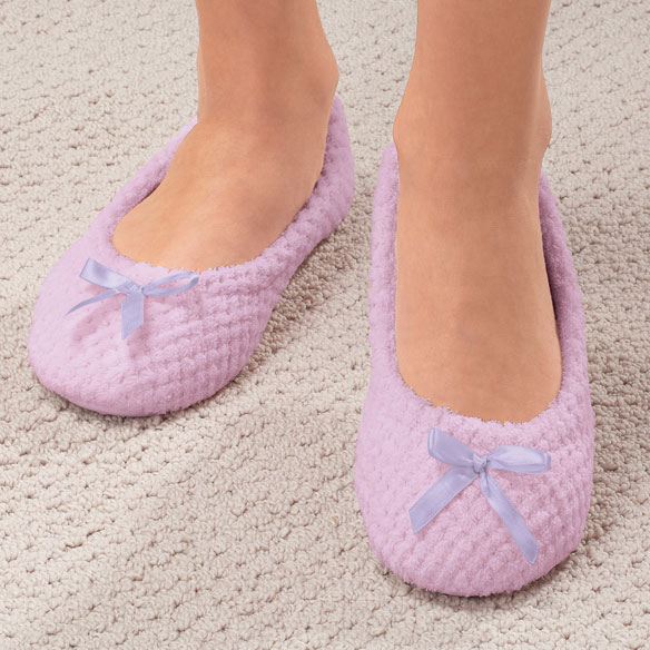 Chenille Ballet Slippers - View 1