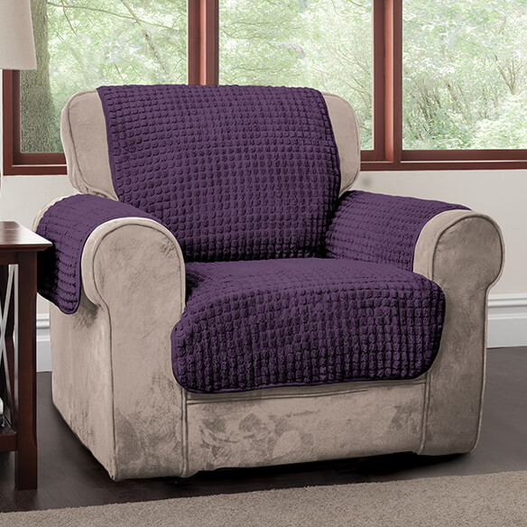Chenille Chair Protector