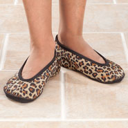 Fleece Apparel & Slippers - NuFoot Ballet Slippers, M-XL