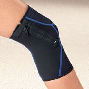 Knee & Ankle Pain - Zippered Knee Wrap
