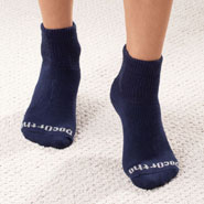 Poor Circulation - Quarter Cut DocOrtho™ Diabetic Socks - 3 Pack