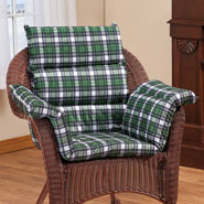Cushions & Chair Pads - Flannel Pressure Reducing Chair Cushion