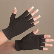 Braces & Supports - Carbon Technology Pain Checker™ Open Finger Gloves