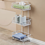 Bathroom Accessories - 3-Tier Bath Tower