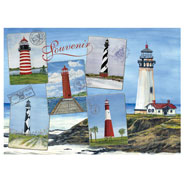 Brain Health - Lighthouses Jigsaw Puzzle - 750 Pieces