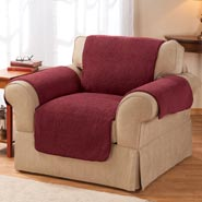 Home Comforts - Sherpa Chair Protector by OakRidge™