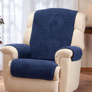Home Comforts - Sherpa Recliner Protector by OakRidge™