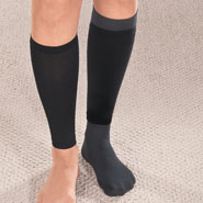 Hosiery - Light Support Trouser Socks with Sleeves