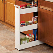 Kitchen Helpers - Slim Storage Cart