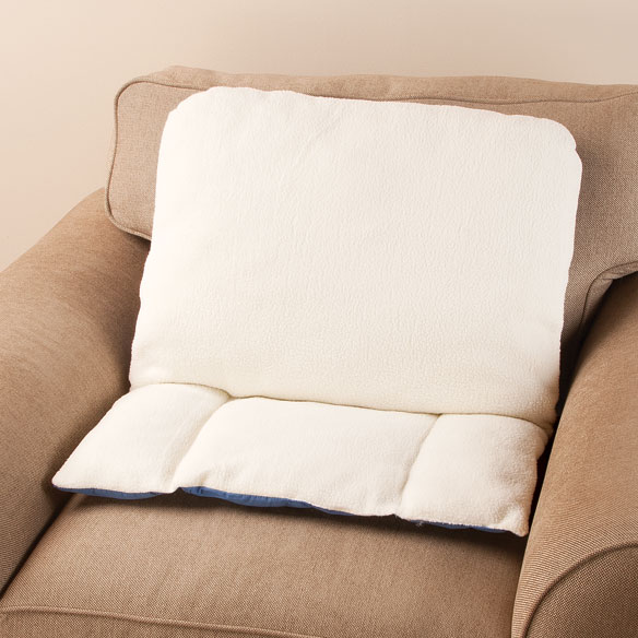 High Back Sherpa Pillow