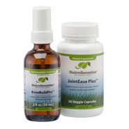 Dietary Supplements - NativeRemedies® Joint and Bone Health Combo Pack