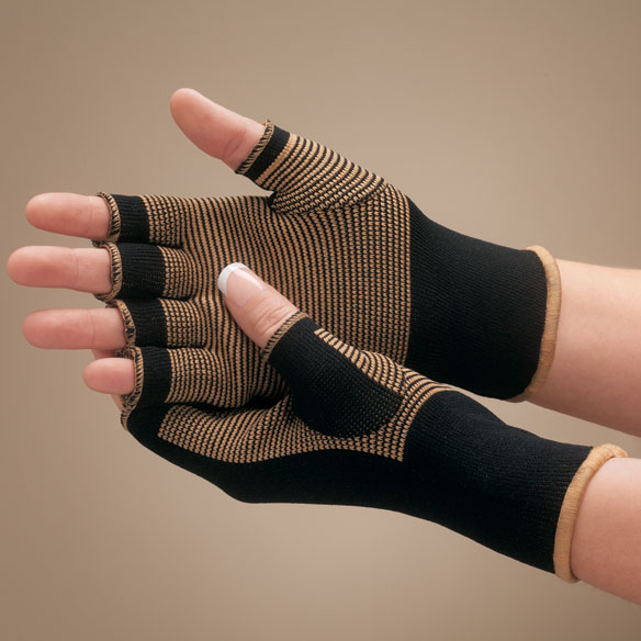 Copper Compression Gloves - View 1