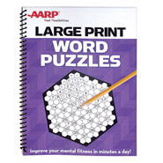Brain Health - AARP Large Print Word Puzzles
