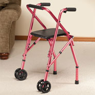 Mobility Aids - Walker with Seat