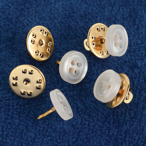 No-Sew Buttons - Set of 24