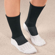 Clearance - Bamboo/Copper Diabetic Crew Socks, 1 Pair
