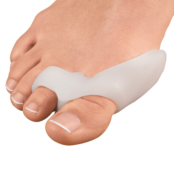 Silver Steps™ Gel Bunion Toe Spreader with Straightening Loop, 1 Pair