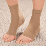 Compression Hosiery - Ankle Compression Sleeve, 1 Pair